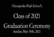 CHS 2021 Graduation Ceremony