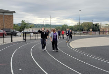 PEAKE Students Walking
