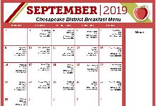September Breakfast & Lunch Menu