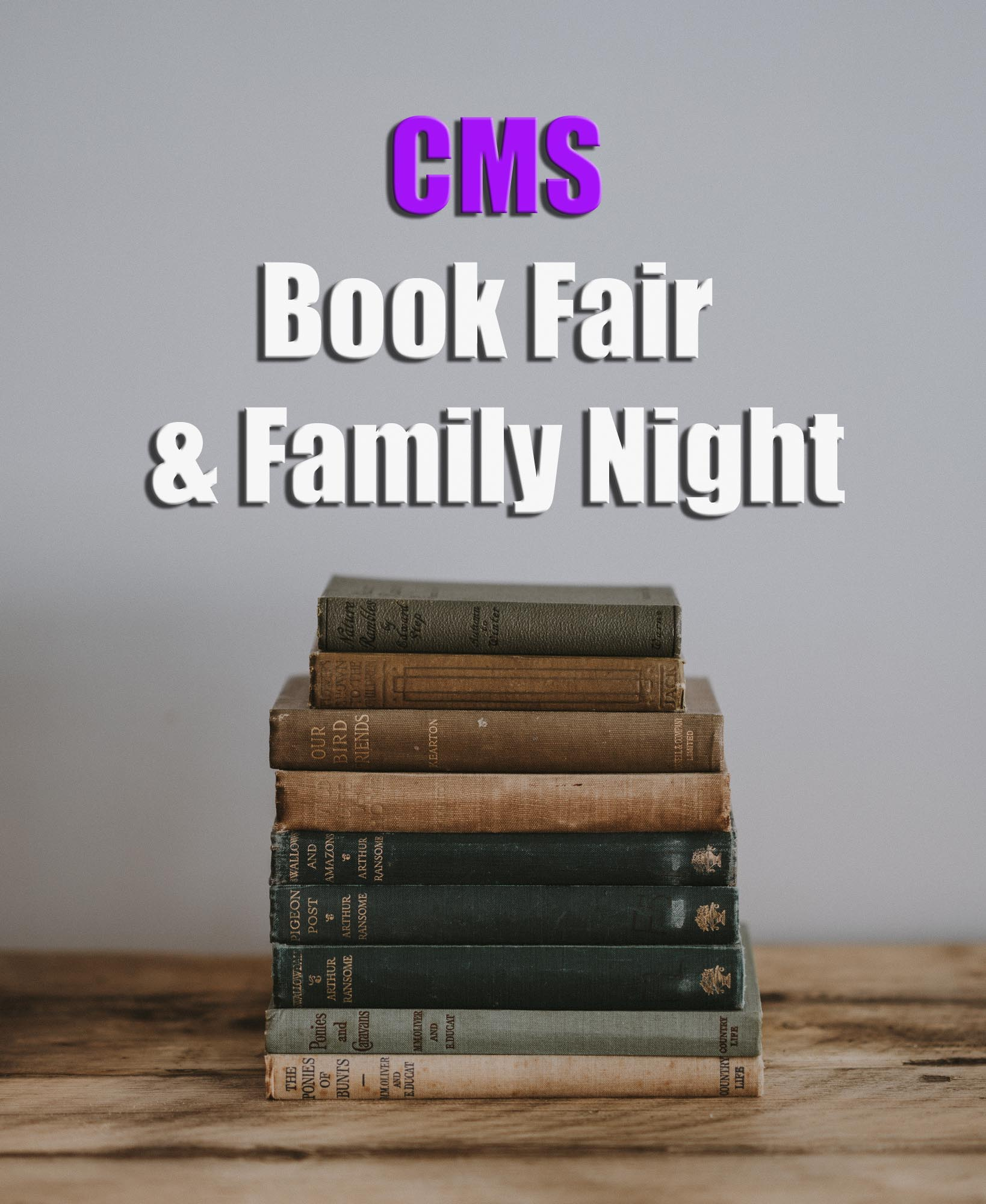 CMS Book Fair & Family Night