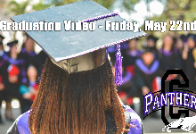 Senior Graduation Video - Premier May 22 @ 9 AM