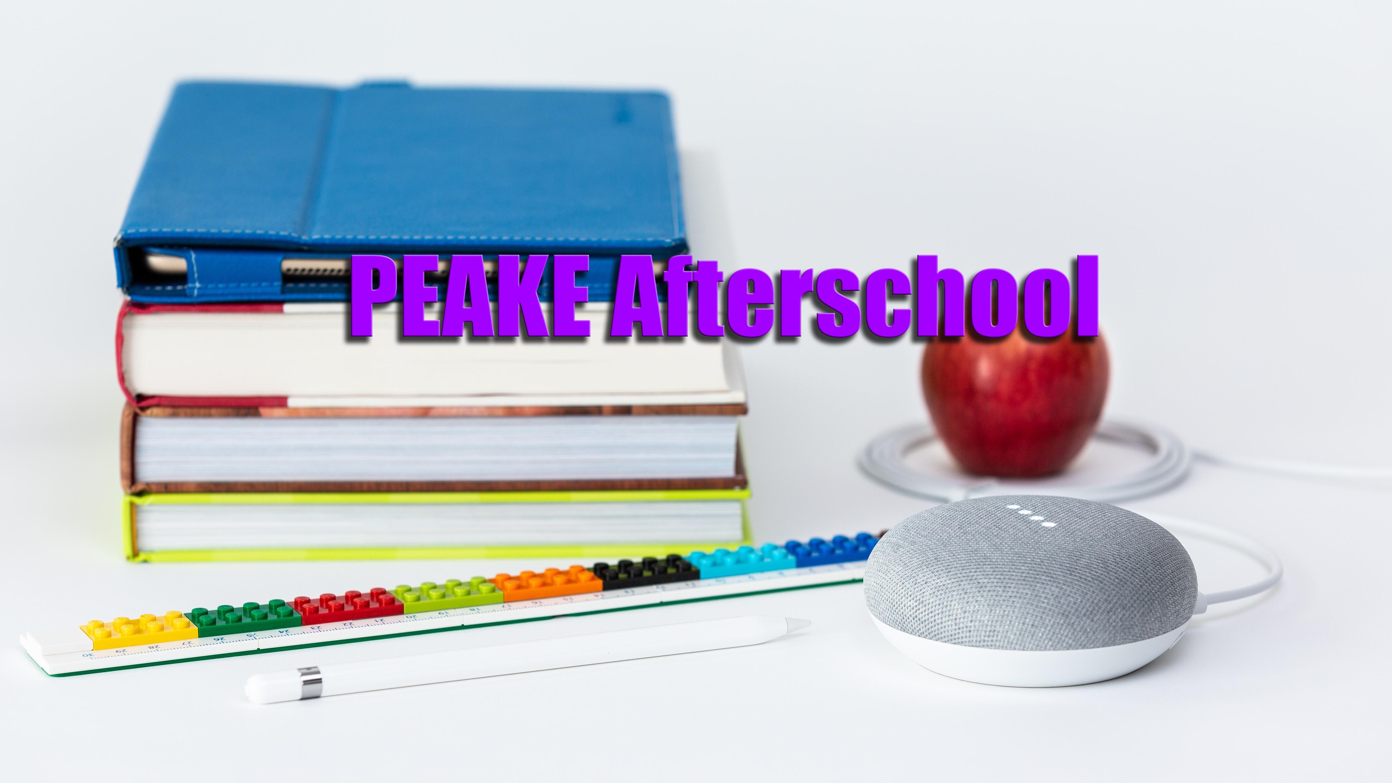 PEAKE Afterschool Program Deadline