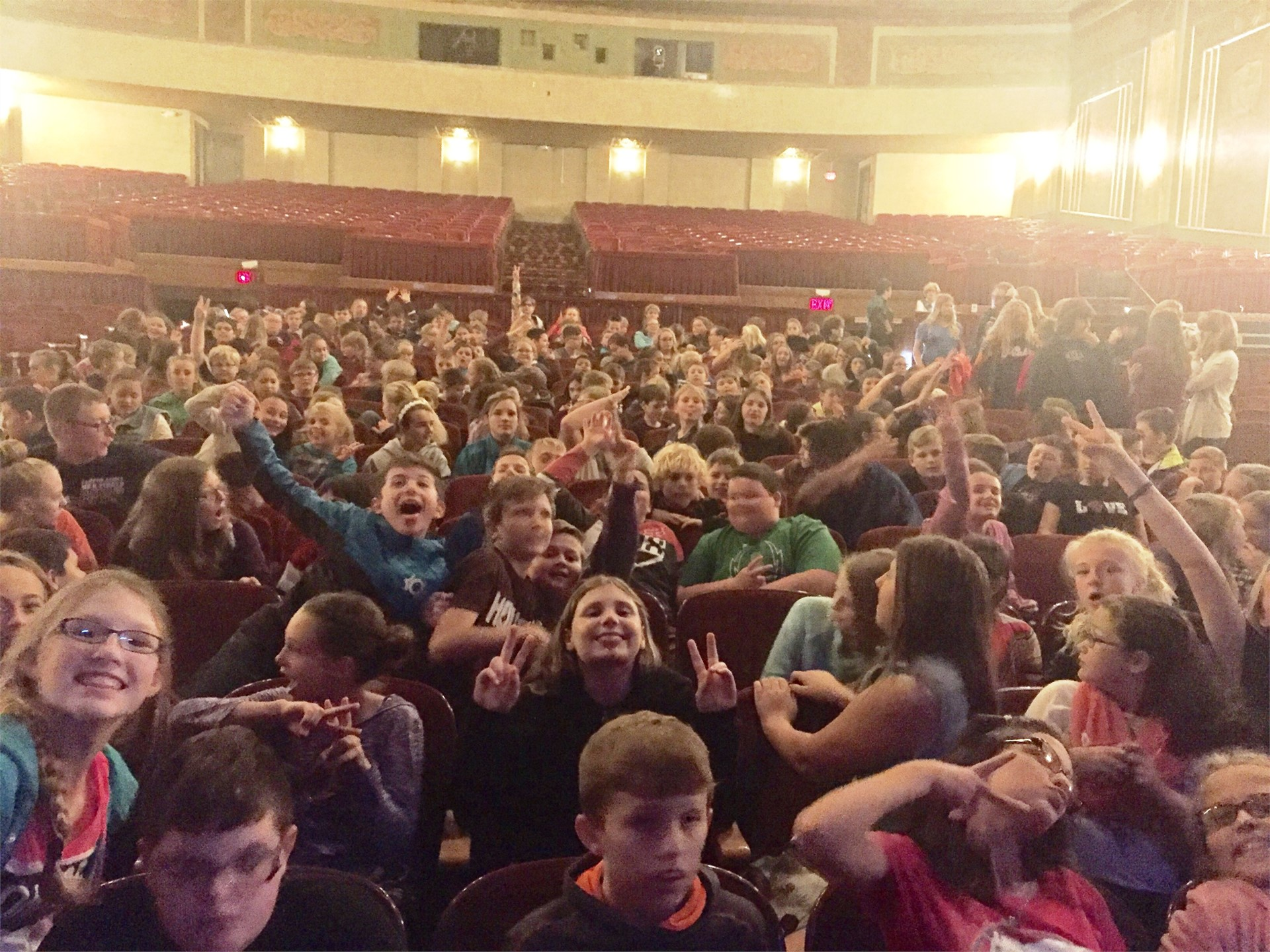6th grade - play at Paramount