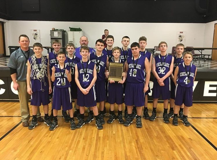 8th Grade OVC Tournament Champs!