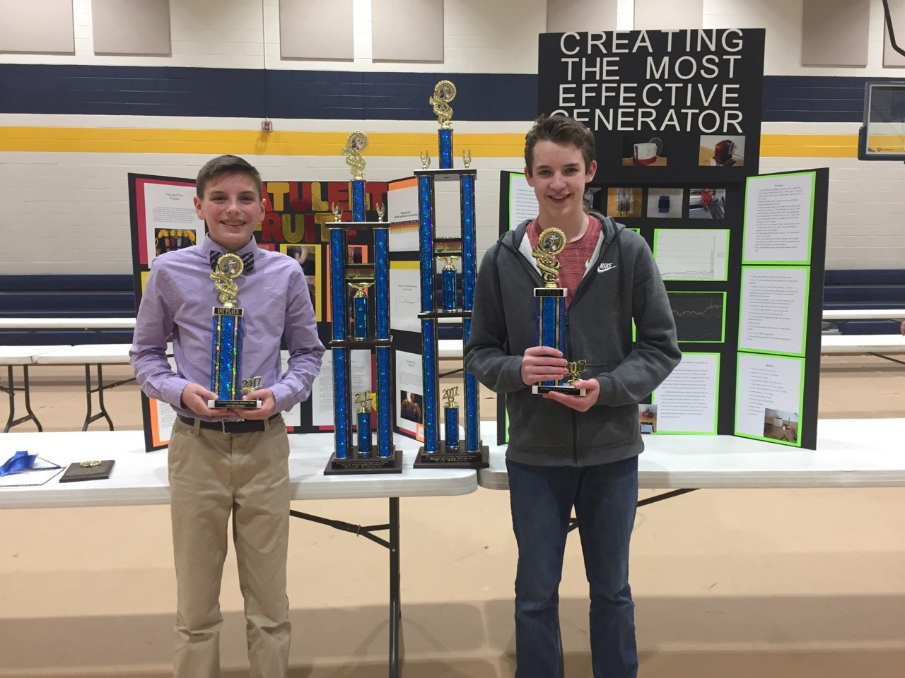 Lawrence Co Science Fair - Overall Winners