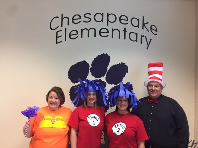 Read Across America Week with Dr. Seuss