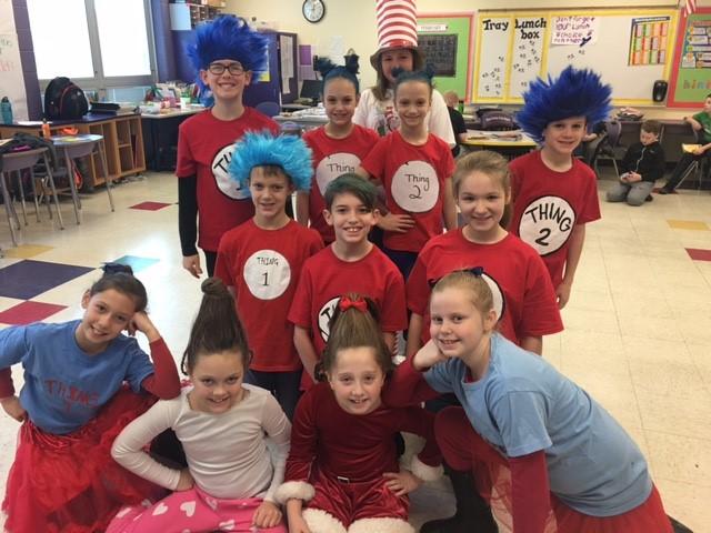 Read Across America Week with Dr. Seuss
