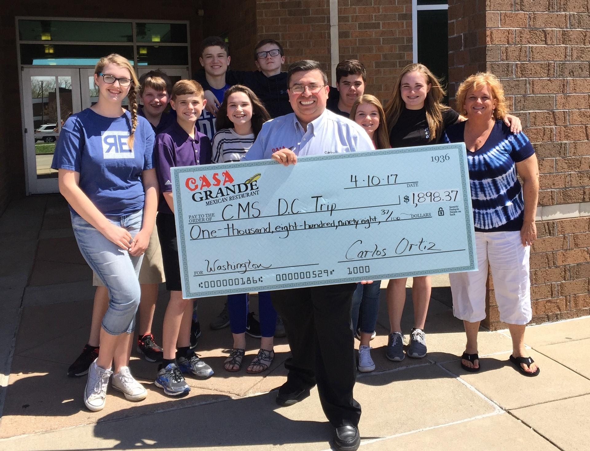 8th grade Fundraiser