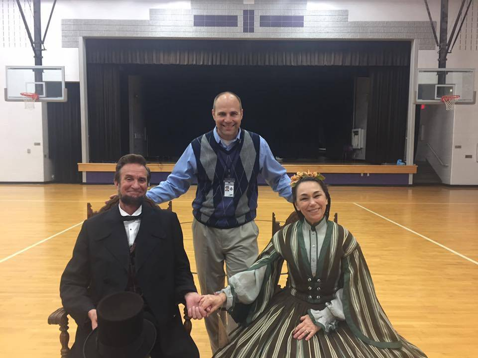 The Lincolns Visit CMS