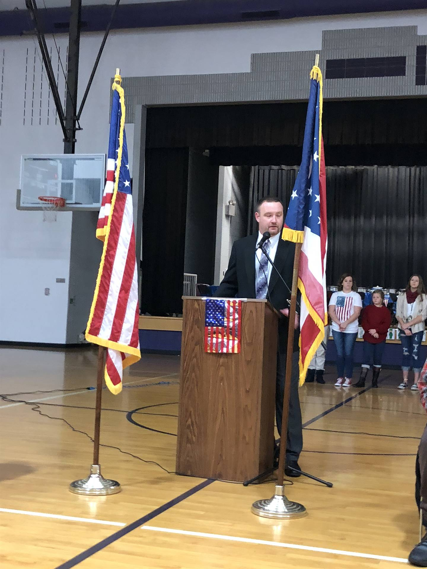 Veterans Day at CMS 11-9-18