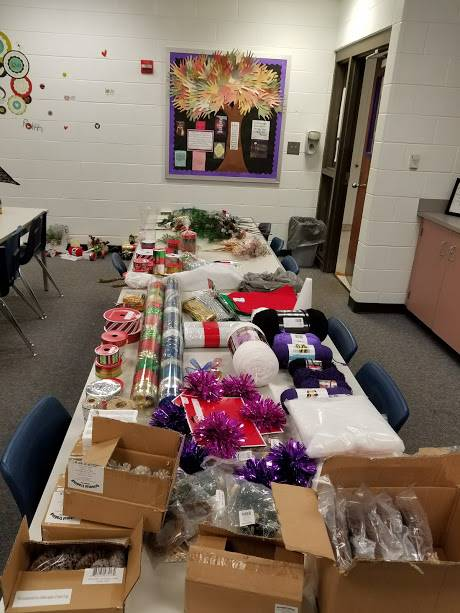 Supplies for Teacher Wreaths