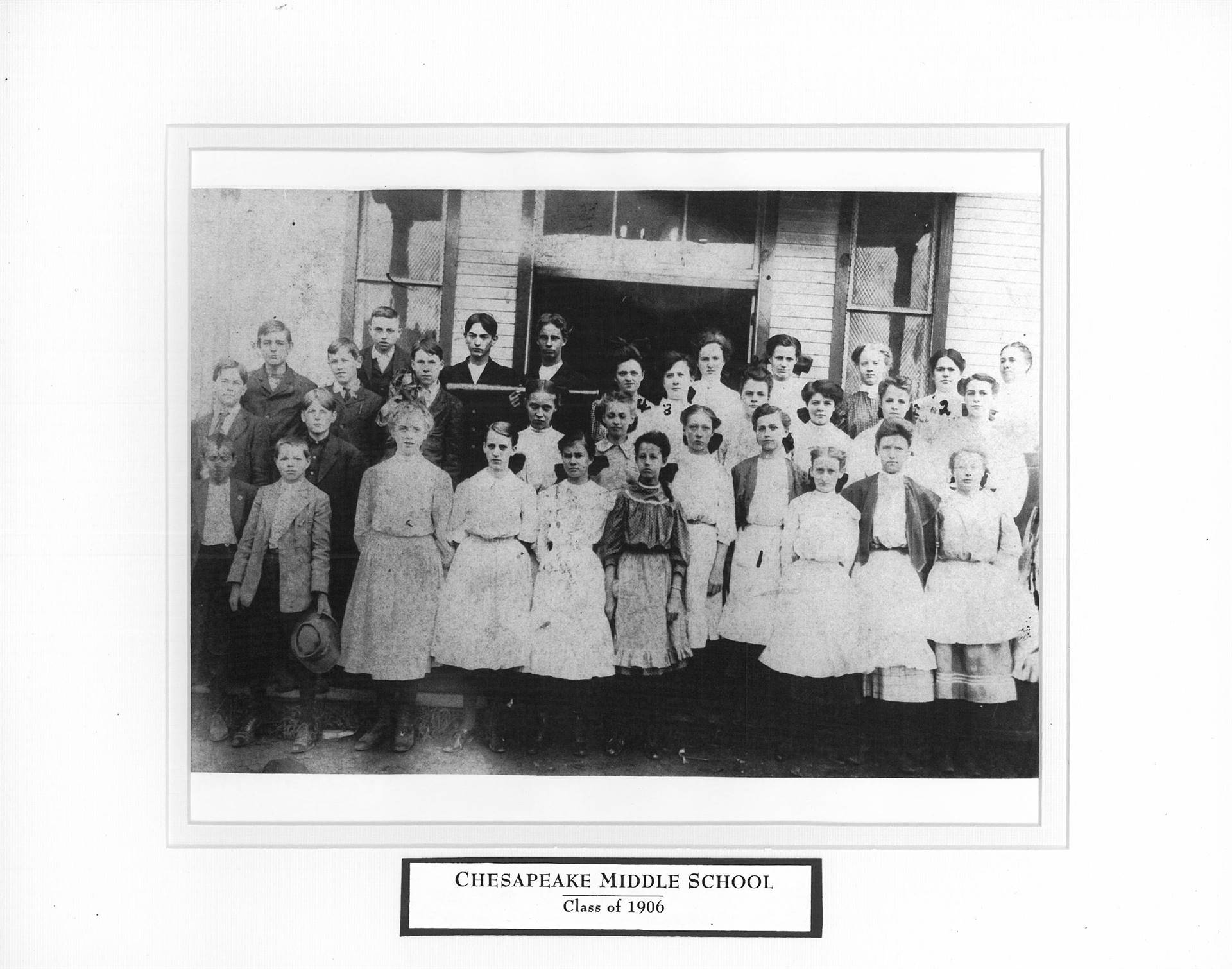 Chesapeake Middle School Class of 1906