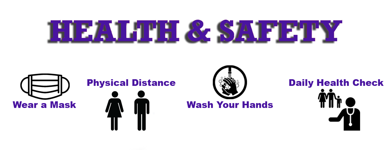 wash hands social distance check temperature